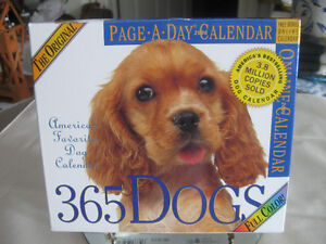 ORIGINAL PAGE-A-DAY 2006 DOG CALENDAR [BOXED]