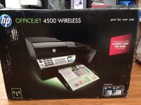 HP Officejet 4500 All-in-One Printer (Print, Copy, Scan, Fax)