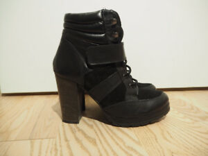 ALDO Heeled Lace Up Ankle Boots