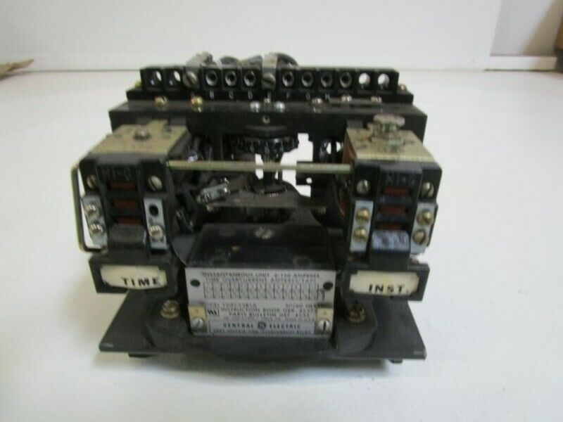 GENERAL ELECTRIC TIME OVERCURRENT RELAY 121FC53B1A *USED*