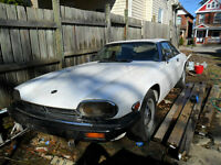 JAGUAR  XJS  V12 COUPE 1996 thru 1975 PARTING OUT