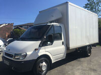 2005 FORD TRANSIT 2.4TDCi 135PS 350 LWB Extended Frame BOX VAN LUTON NOW SOLD