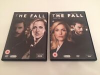 """The Fall"" DVDs Series 1&2 (As new)"