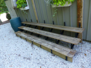 Steps or stairs for deck