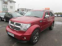 2007 Dodge Nitro SUV 2.8CRD 174 SE 6Spd Diesel red Manual