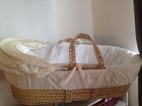 Moses basket new