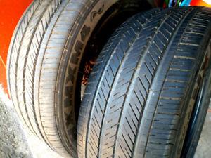 2 pneus d'été MICHELIN  255/55R18