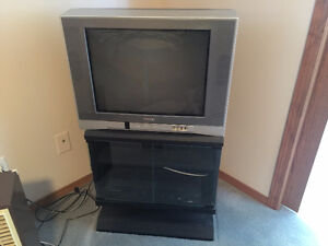 Toshiba TV with Stand