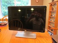 HP LCD wide screen monitor