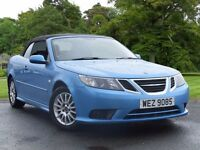 2009 SAAB 9-3 LINEAR SE CONVERTIBLE 150HP TID