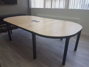 Ikea Conference Table:  1 middle and 2 end-tables - PickUp only