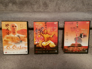 Once Upon a Time in China Trilogy DVD - Jet Li