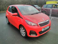 2015 Peugeot 108 1,0 Active, 29000 miles. 1 Owner. Free tax cheap insurance. FSH