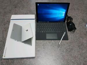 I7 / 16 GB RAM / 256 GB SSD . Keyboard & Pen & Power Supply