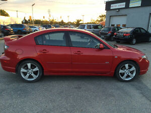 2005 Mazda Mazda3 GT - Clean Title - New Safety