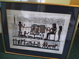 Framed Papyrus Prints