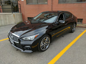 Clean 2014 Infiniti Q50S (all options) W/Ext Factory Warranty