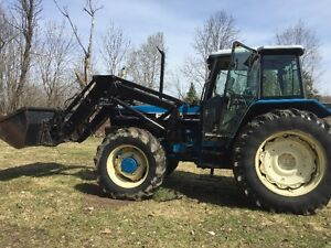 Tractor Ford 8240 SLE PowerStar