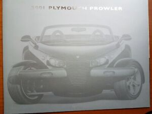 2001 Plymouth Prowler Brochure