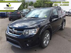2014 Dodge Journey SXT FWD   Low Km, DVD, Third Row seating!