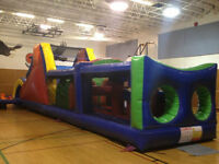 INFLATABLE OBSTACLE COURSE FOR RENT! (PARKER PARTIES)