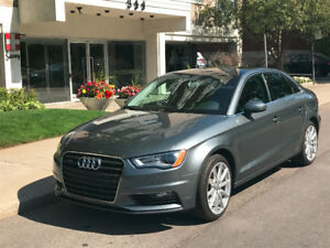 * GREAT DEAL* Lease transfert : $455/month for AUDI A3 2016 !!!