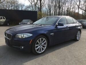 2012 BMW 5 SERIES 535I XDRIVE * AWD * LEATHER * SUNROOF * NAV *  London Ontario image 2