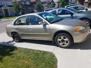 2003 HONDA CIVIC FOR SALE AS IS! $550 $550 $550 $550