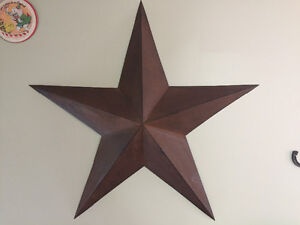 Large rustic star