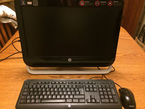 HP Omni Desktop All-In-One - Excellent (NEW-LIKE) condition