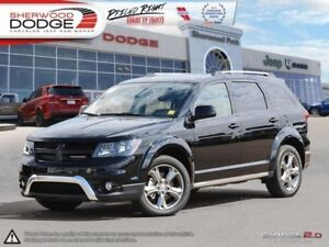 2017 Dodge Journey Crossroad  DVD | PARK ASSIST | HEATED LEATHER
