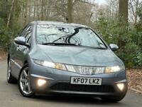 2007 Honda Civic 1.8 i-VTEC EX i-Shift 5dr Hatchback Petrol Automatic