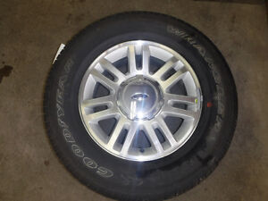 Set of four 18'' Alloy wheels & tires for 2004-14 Ford F150