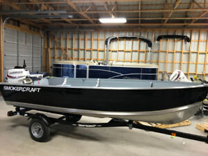 14' Voyager with 30hp Etec