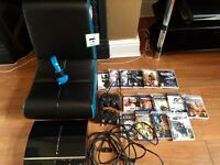 PS3 Games Console + Gaming Rocker Chair Package