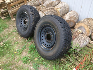 2 tires for sale, GM Truck Tires