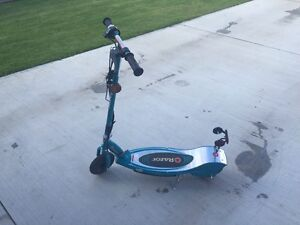Razor brand electric scooter