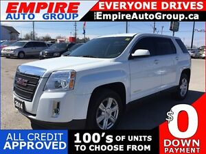 2014 GMC TERRAIN SLE-1 * AWD * REAR CAM * BLUETOOTH * LOW KM