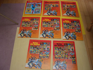 LOT OF 8 GERMAN COMICS SUPERMAN AND STAR WARS 1980'S London Ontario image 2