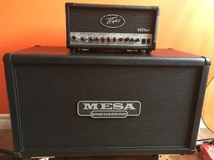 Peavey 6505mh and mesa 2x12 recto cab