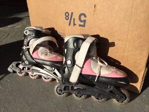Girls Roller blades Size 1-4 Adjustable