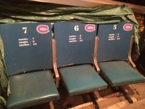 Original Montreal Forum Seats