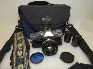 Mint Vintage 1984 Olympus OM-30 35mm Film Camera W/Zuiko 50mm