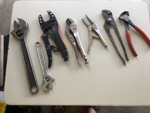 Hand Tools - Pliers/Vise Grips/Nippers