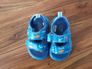 Boys shoes, slippers, sneakers newborn to 6 months for $10