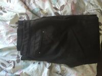 Marks and spencer brown tailored trousers size 12R