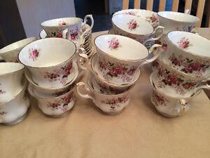 Lavender Rose China Tea Cups and Saucers Regina Regina Area image 1
