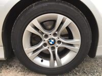 """BMW 16"""" 205/55/16 wheels and tyres"""