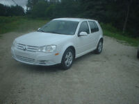 2010 Volkswagen Golf,ONLY 82745 KMS,PRICE $7500 YARMOUTH
