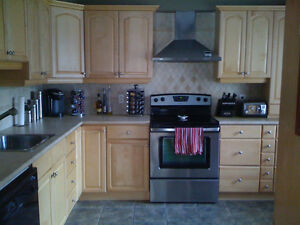 Apartment in Triplex for rent Available July 1st -Hydro Include